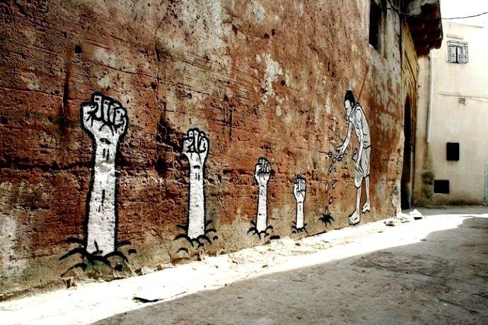 18 zoo project - street artist français- la révolution tunisienne- 2011 -Tunisie.jpg