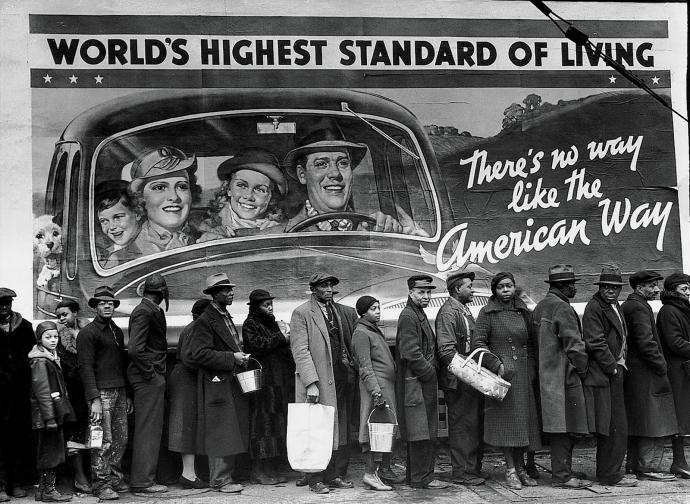 Margaret Bourke White, Soupe populaire à Louisville, 1937.jpg